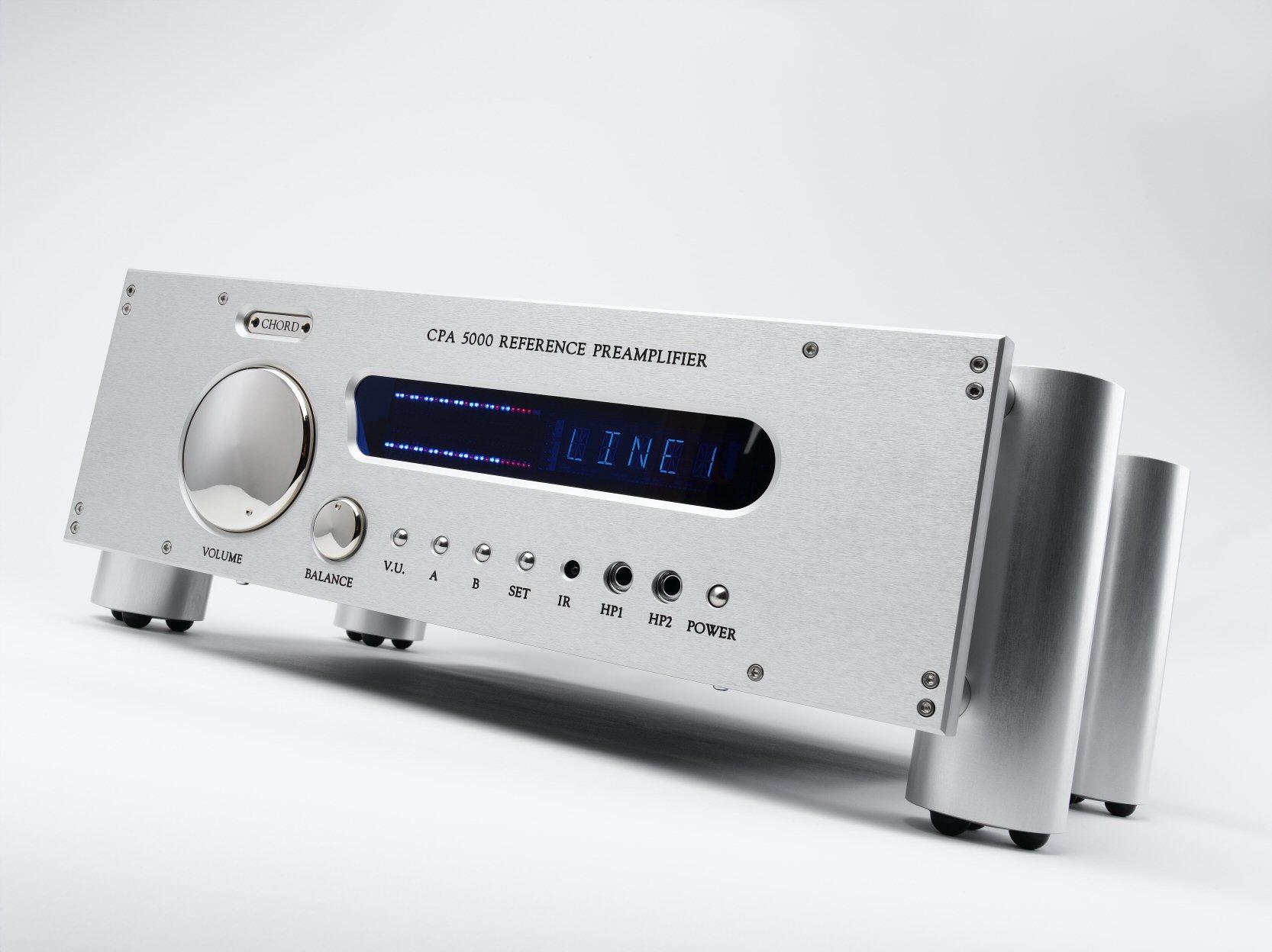 Chord Electronics CPA5000 Reference - Symmetrischer Vorverstärker ...