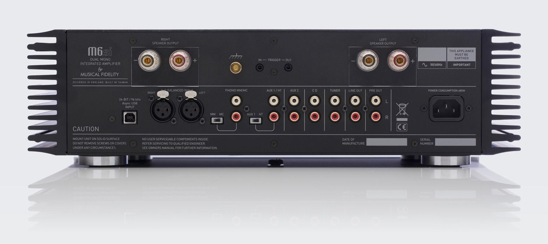 Musical Fidelity M6si Amplificateur Int Gr 2 X 220w 8 Ohms  # Meuble Hifi Integre