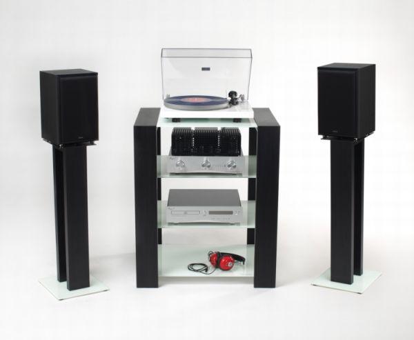 pieds pour enceintes compactes hi fi st r o audio. Black Bedroom Furniture Sets. Home Design Ideas