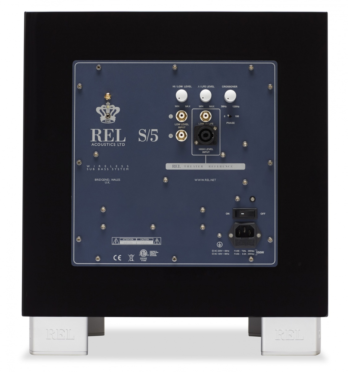 REL S 5 - Subwoofer 550W/20Hz, Audio Visual Factory